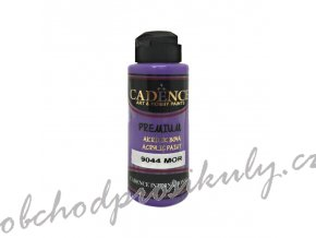 akrylova barva cadence premium 120 ml purple fialova