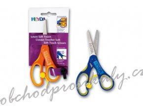 Nůžky dětské pro praváky kulaté soft touch 12cm