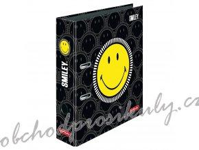Herlitz - Pořadač A4/8 cm SmileyWorld Black/Yellow