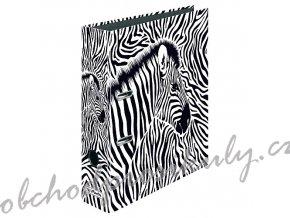 Herlitz - Pořadač A4/8 cm, Animal Print