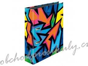 Herlitz - Pořadač Neon Art A4/8 cm