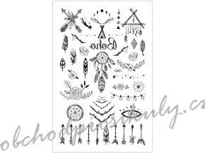 Tetovací obtisky 8,5 x 13 cm