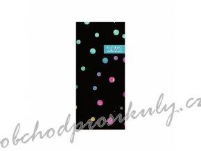 Diář PVC měsíční 2022 Dots colors