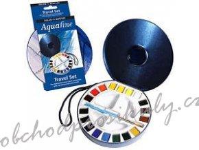 Daler-Rowney 131900030 Aquafine watercolour umělecké akvarelové barvy travel