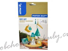 Pilot Pintor, akrylový popisovač Fine, sada 3 kusů / Adventní kalendář