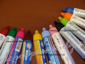 Voskové tužky na zdobení, různé barvy