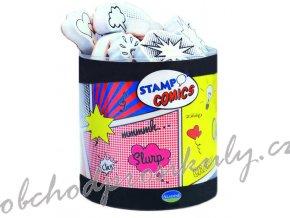 Sada razítek StampoFun, Komiksy