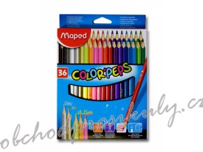 pastelky maped trojboke color peps 36ks original