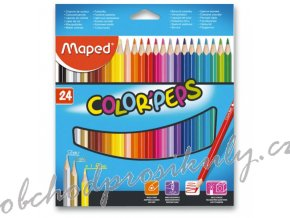 pastelky maped color peps 24 barev 9183224 original