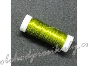 Dekorační drátky 0,3mm, různé barvy