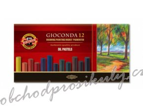 kridy olejove umelecke gioconda koh i noor 12 ks 8352 original