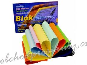 blok barevnych papiru funny faces 320x240mm 150m m2 1704 0214 original