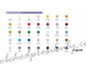 Barevné papíry MURANO, 160g, 50x65cm, 45% bavlny