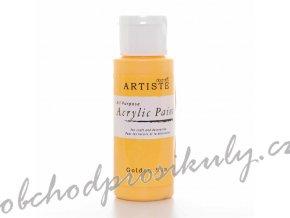 Akrylová barva žlutá 59ml