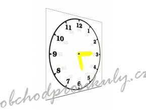 skolni hodiny bile original
