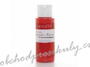 Akrylová barva rudá 59ml