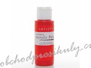 Akrylová barva třešňová 59ml