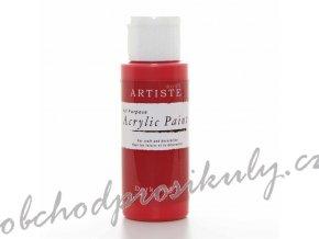 Akrylová barva tmavá červená 59ml