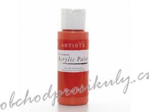 Akrylová barva hnědočervená 59ml