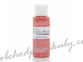 Akrylová barva starorůžová 59ml