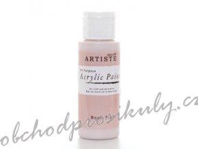 Akrylová barva světlá růžová 59ml