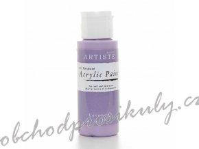 Akrylová barva levandulová 59ml