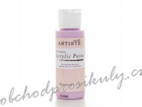Akrylová barva světle růžová 59ml