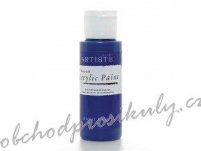 Akrylová barva královská modrá 59ml