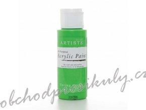 Akrylová barva jarní zelená 59ml