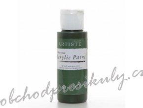 Akrylová barva zelená džungle 59 ml