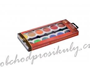Barvy vodové umělecké krycí, 12 barev