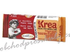 Samotvrdnoucí hmota KREA, Terracotta, 500g