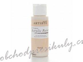 Akrylová barva písková 59ml