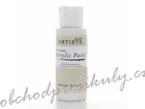 Akrylová barva šedobílá 59ml