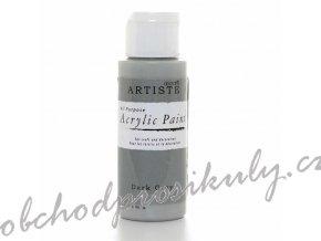 Akrylová barva tmavě šedá 59ml