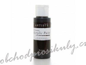 Akrylová barva černá 59ml