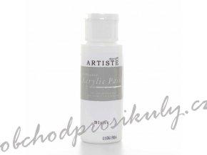 Akrylová barva bílá 59ml