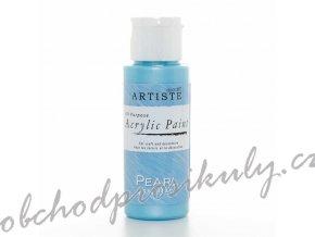 Akrylová barva perleť. ledově modrá 59ml