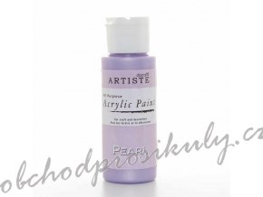Akrylová barva perleť. lila 59ml