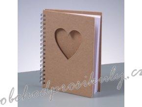 1508003zápisník srdce