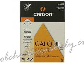 Pauzovací papír Calque A4, 1 list