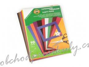 Vlnitý papír KOH-I-NOOR, A4, sada 10ti barev