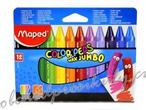 voskove pastelky maped wax jumbo trojhranne 12 ks 0085 9861311 original
