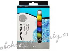 5011386075273 134 500 006 Simply Watercolour 6x12ml set