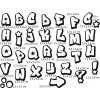 stampofun graffiti abecedal