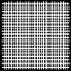 sablona 12 x12 30 5 x 30 5 cm plaid fringe