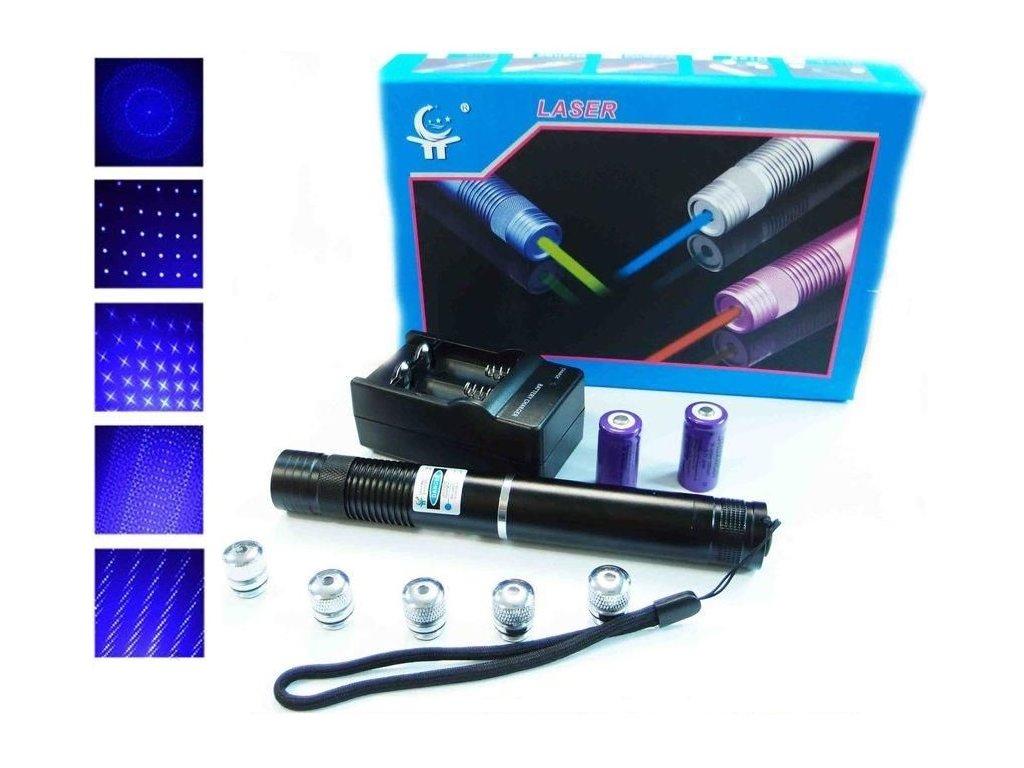 i niebieski wskaznik laserowy yx b008 10000mw 5 glowic i ladowarka