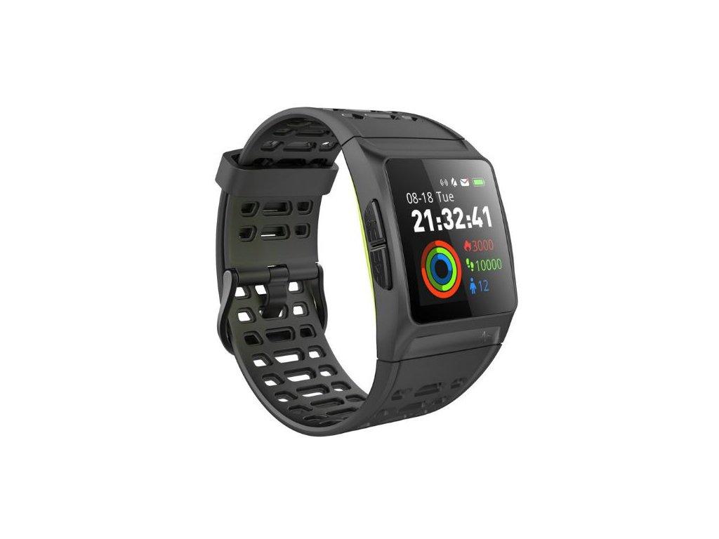 Chytré fitness hodinky P1 s GPS - Obchodseslevou.cz d9d9b4c106