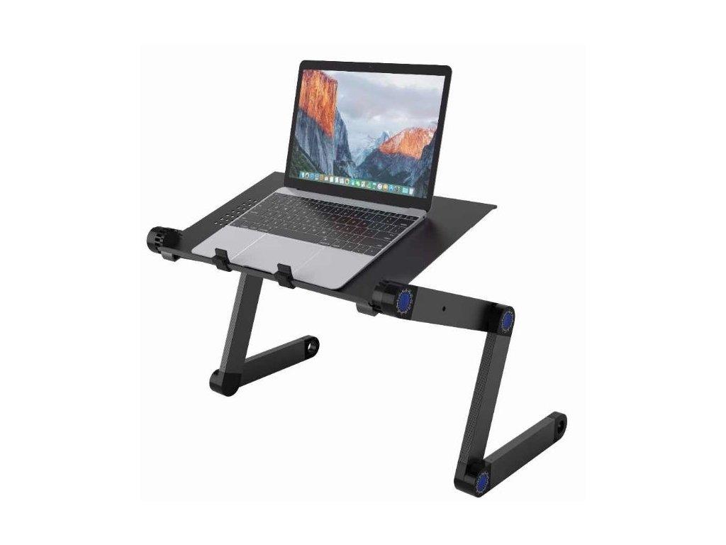 8594 4 skladaci a polohovatelny stolek pro notebook s moznosti rotace o 360