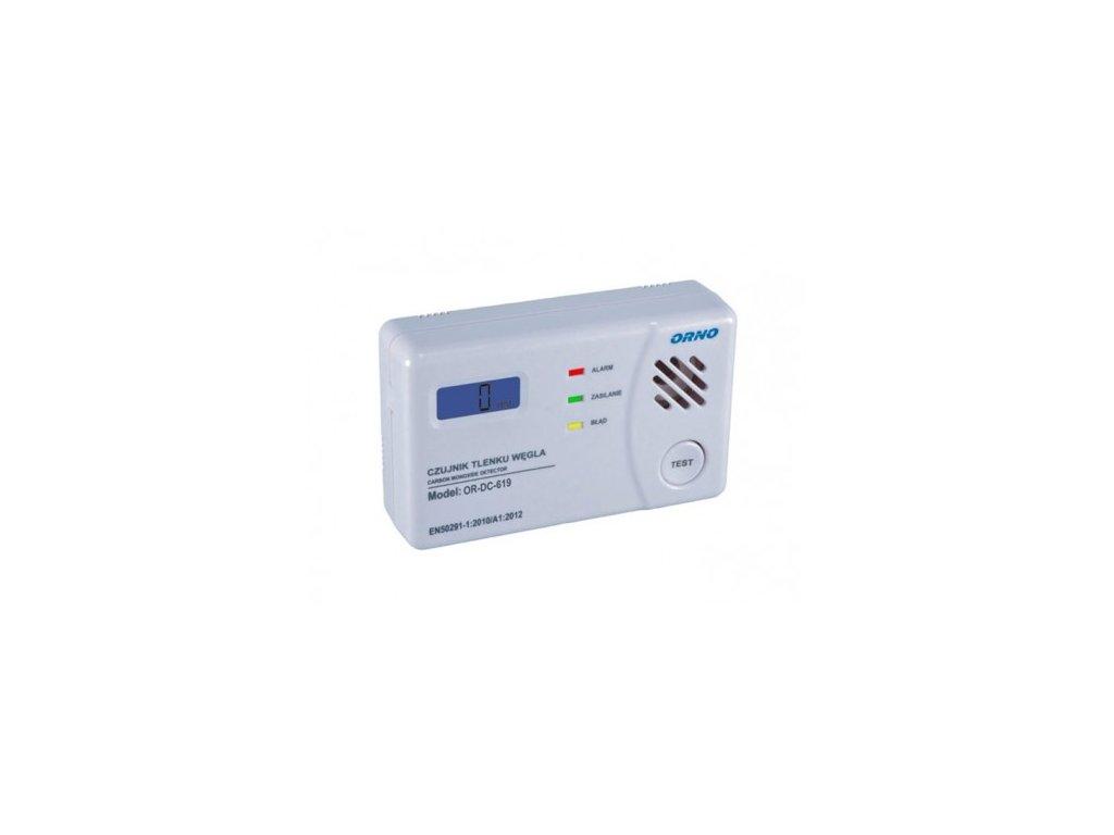 autonomni opticky a teplotni detektor koure
